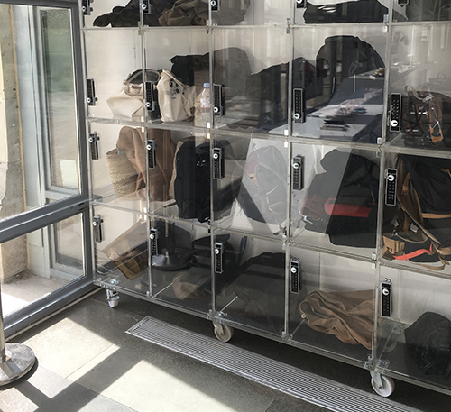 Cemag casiers transparents